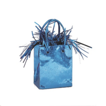Világos kék mini ajándéktasakos súly / U49013